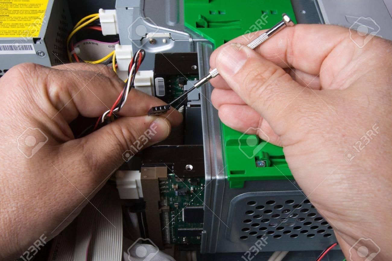électricien Banque d'images - 7935847