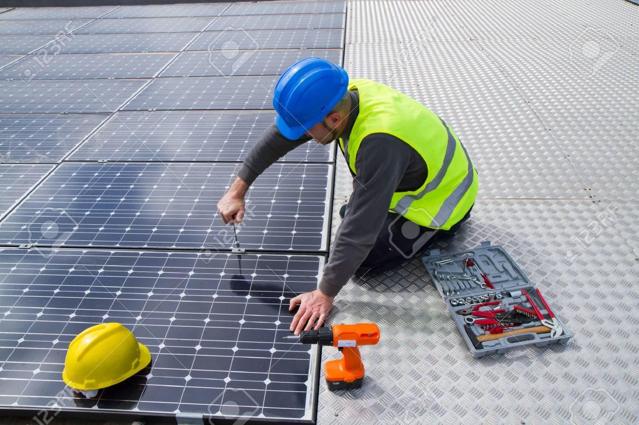 photovoltaïques Banque d'images - 38161267
