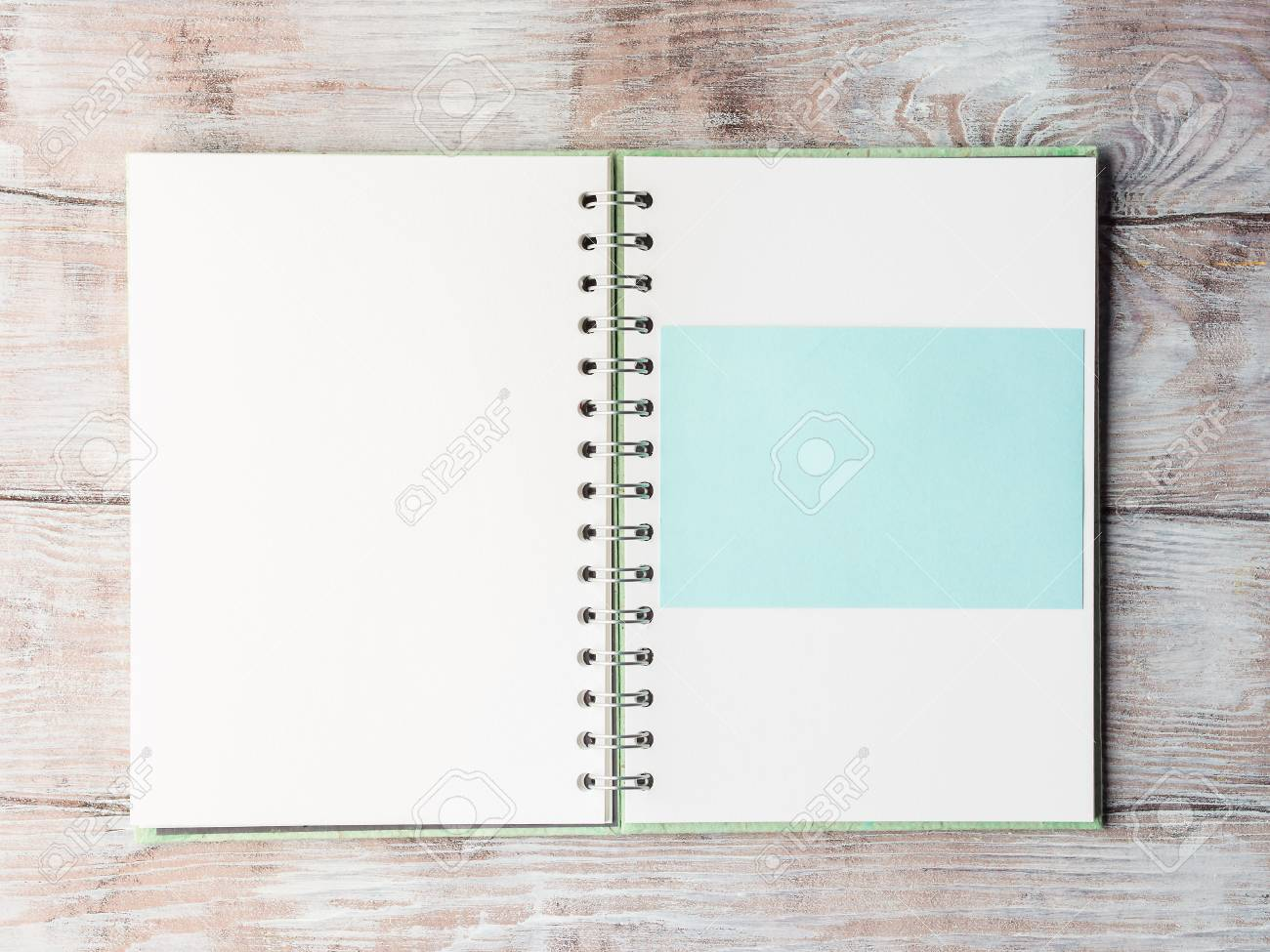 Open notebook blank empty page to fill with text pastel color open notebook blank empty page to fill with text pastel color invitation card top stopboris Images