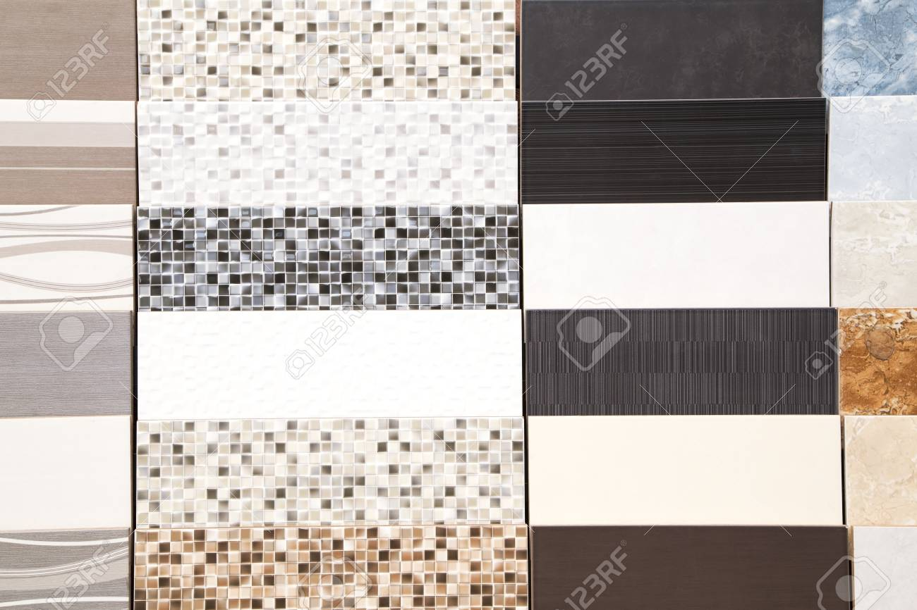 Various Ceramic Tiles Samples Stock Photo Picture And Royalty Free