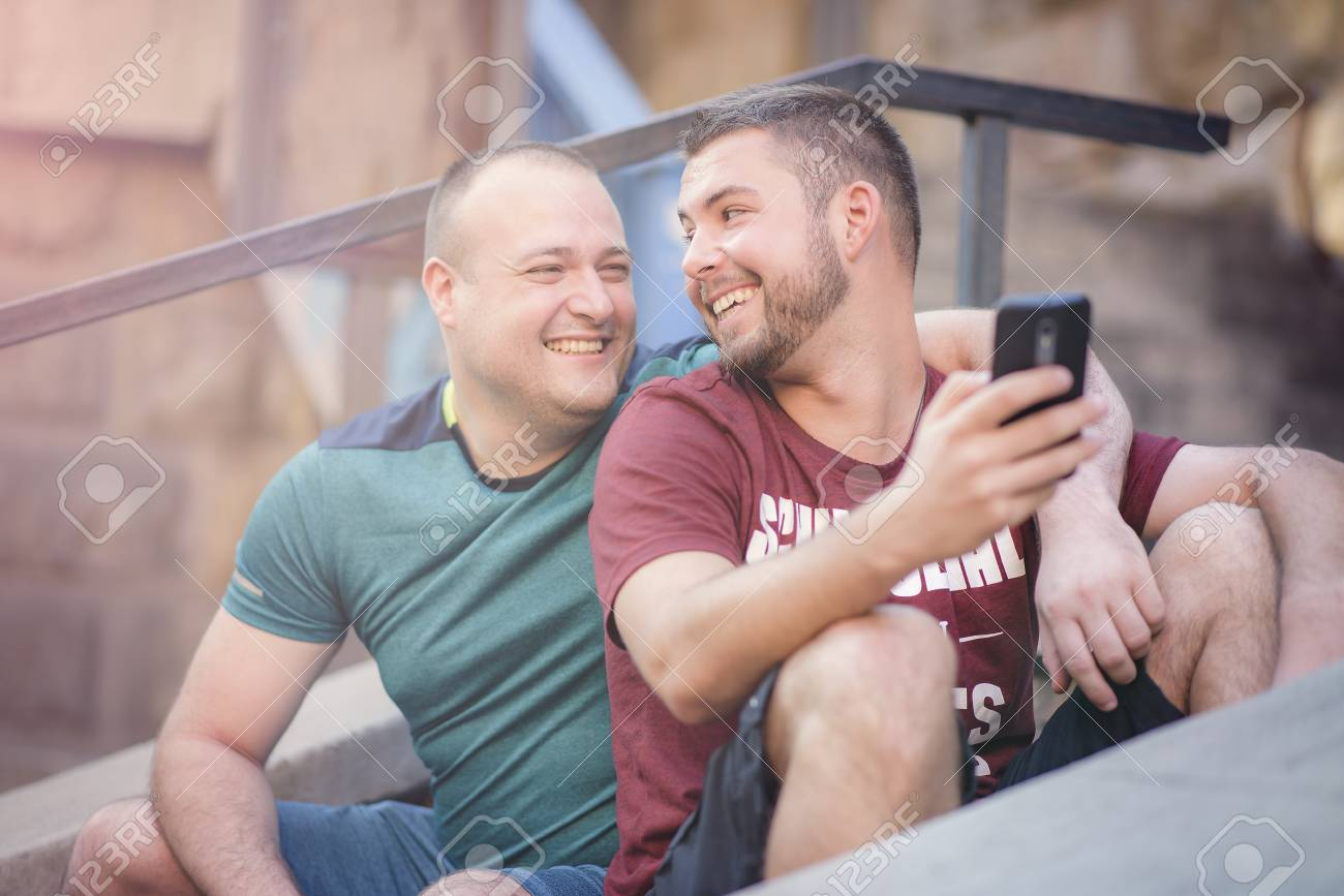 Cute gay couple videos