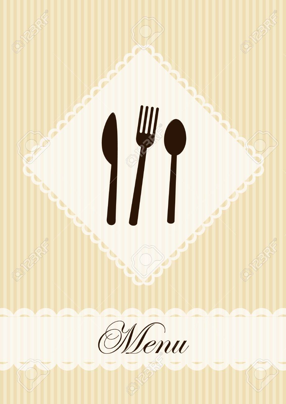 Restaurant menu template Stock Vector - 10447342