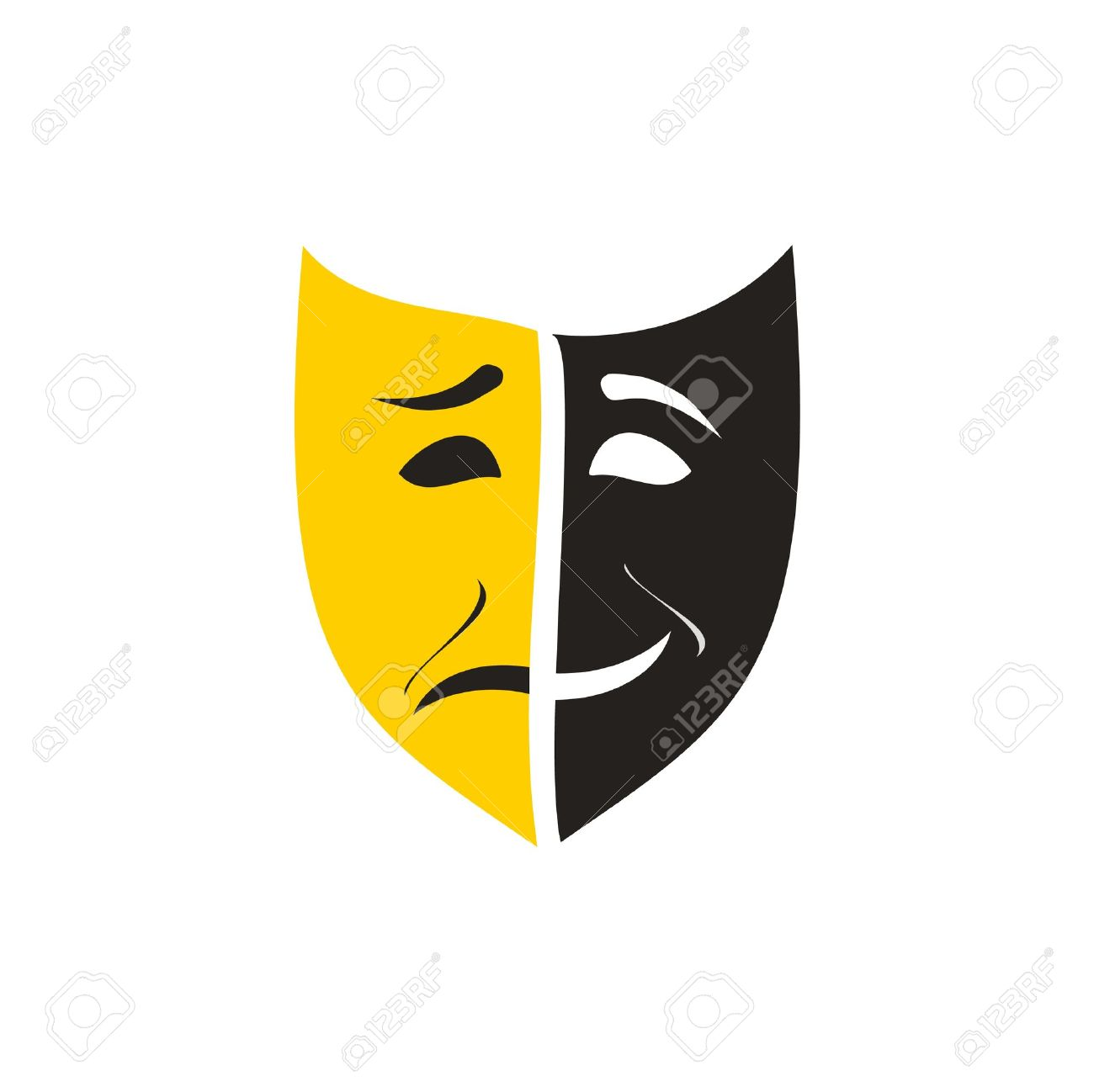 theatre mask Stock Vector - 11671650