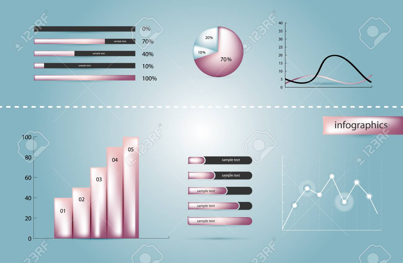 Infographics elements Stock Vector - 15777975