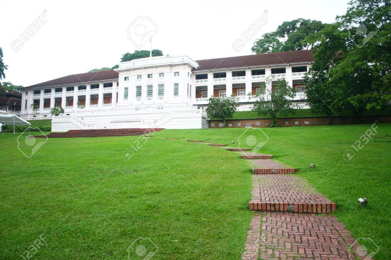 Fort Canning Park, Singapore British world war 2 history