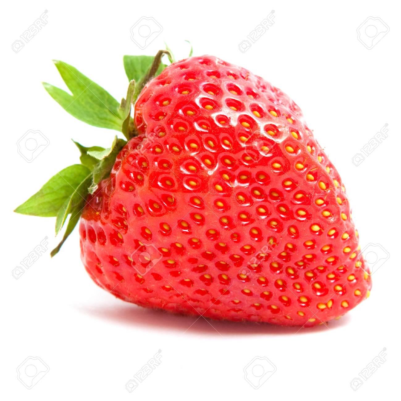 strawberry on white background - 6234257