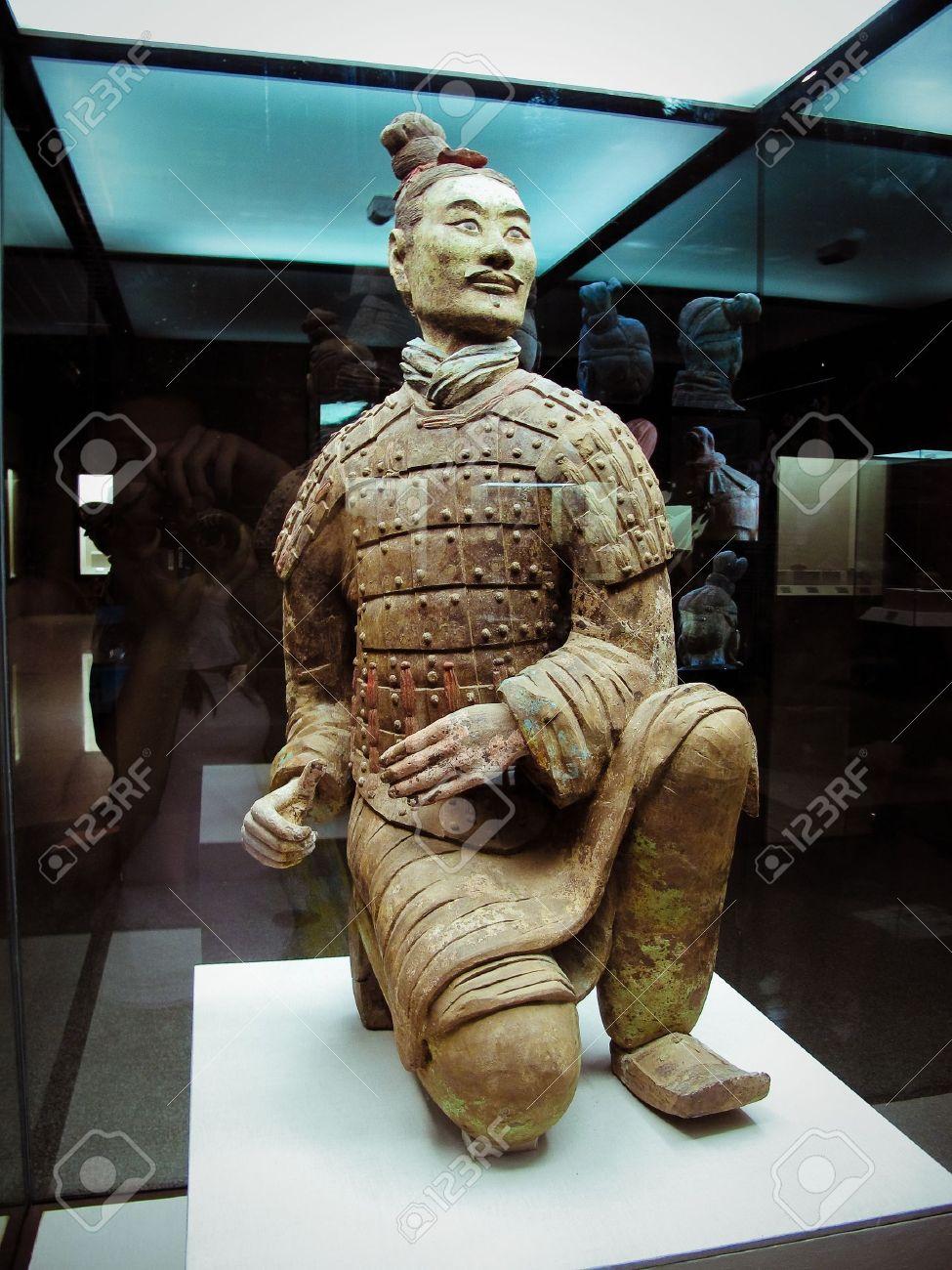 The famous terracotta warriors of XiAn, China - 9867707