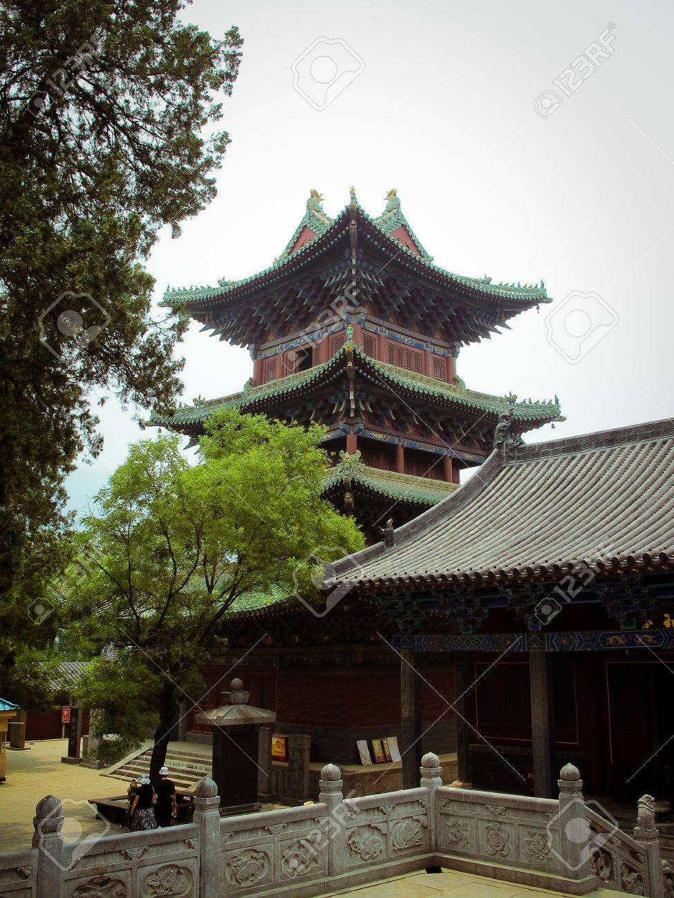 Shaolin Temple in Dengfeng of Henan Province, China. - 10400297