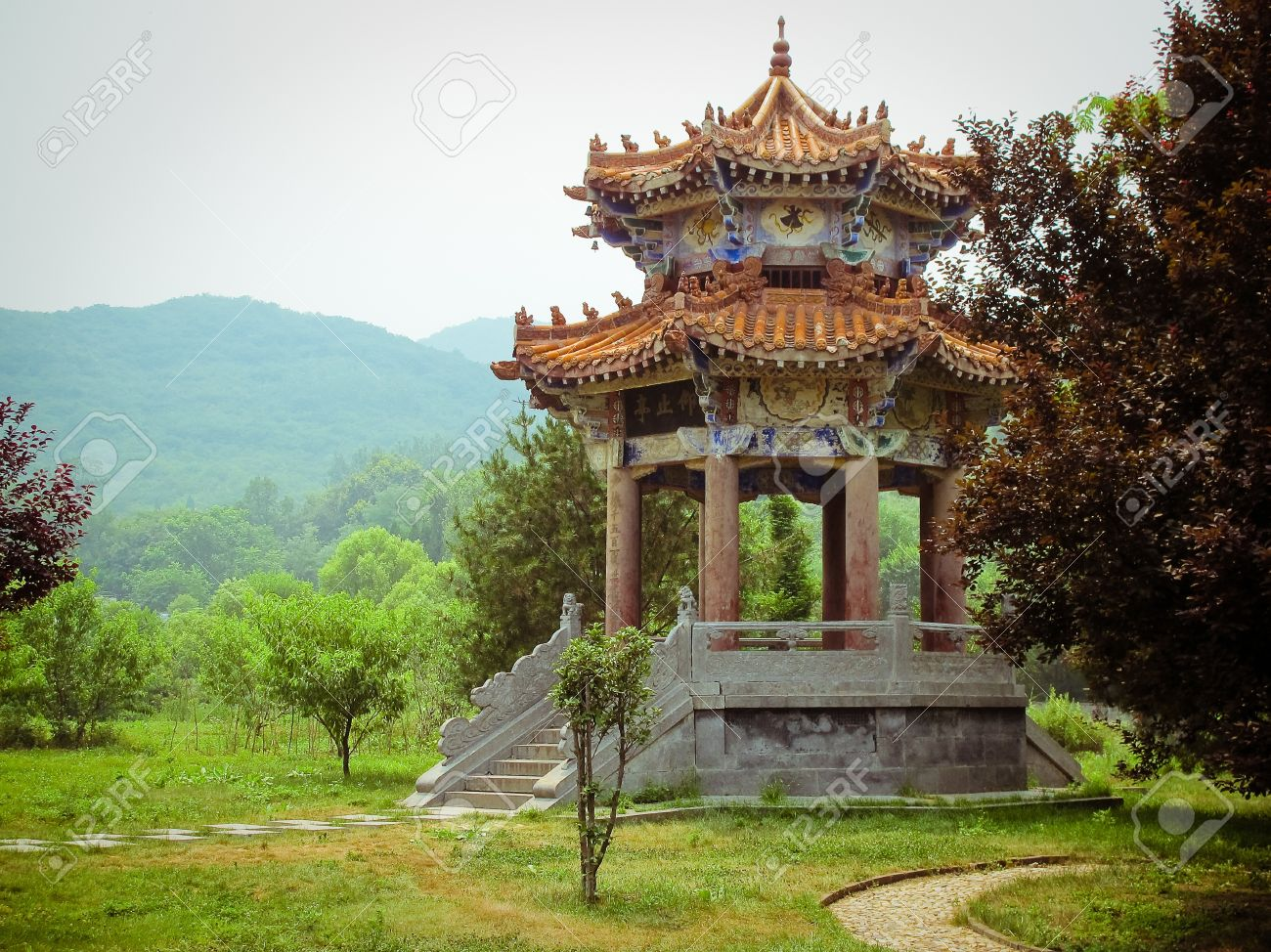 Shaolin Temple in Dengfeng of Henan Province, China. - 10482094
