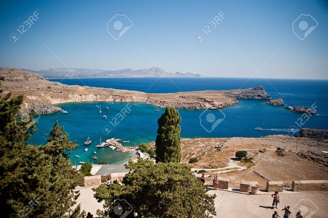 Greek islands - Rhodes, Lindos bay - 15339002