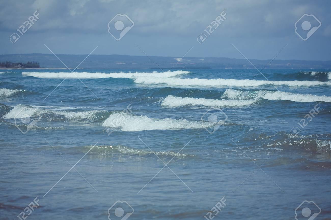 Ocean waves  Indian ocean  Bali  Indonesia Stock Photo - 17127145