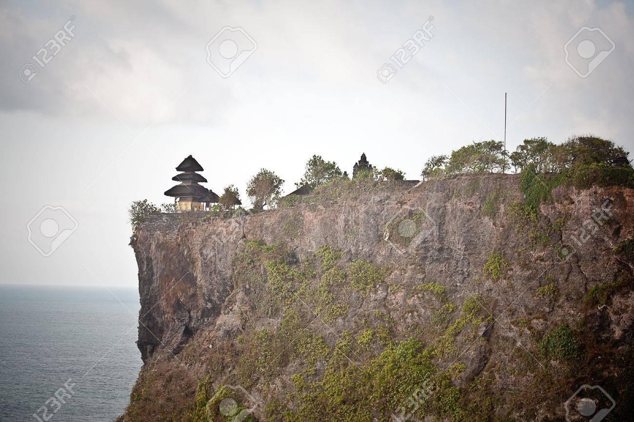 View of Pura Uluwatu temple, Bali, Indonesia Stock Photo - 17128646