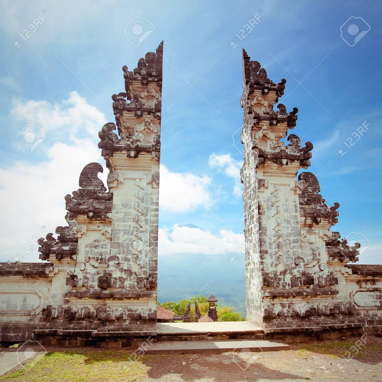 Pura Lempuyang temple Bali, Indonesia - 46787569
