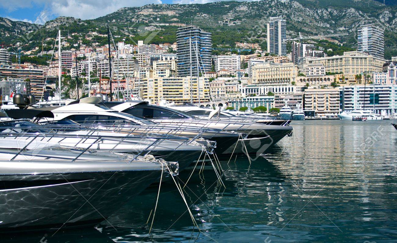 Port in Monaco Stock Photo - 11501373