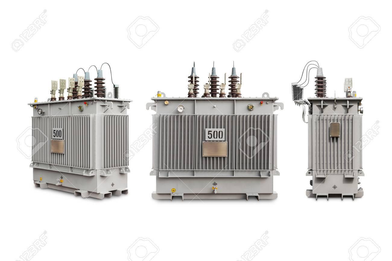 Three phase (500 kVA) hermetic sealed type with nitrogen gas