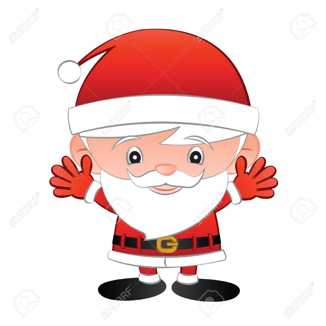 6b9c070862c9a Santa Claus Cartoon Big Head Cute Version