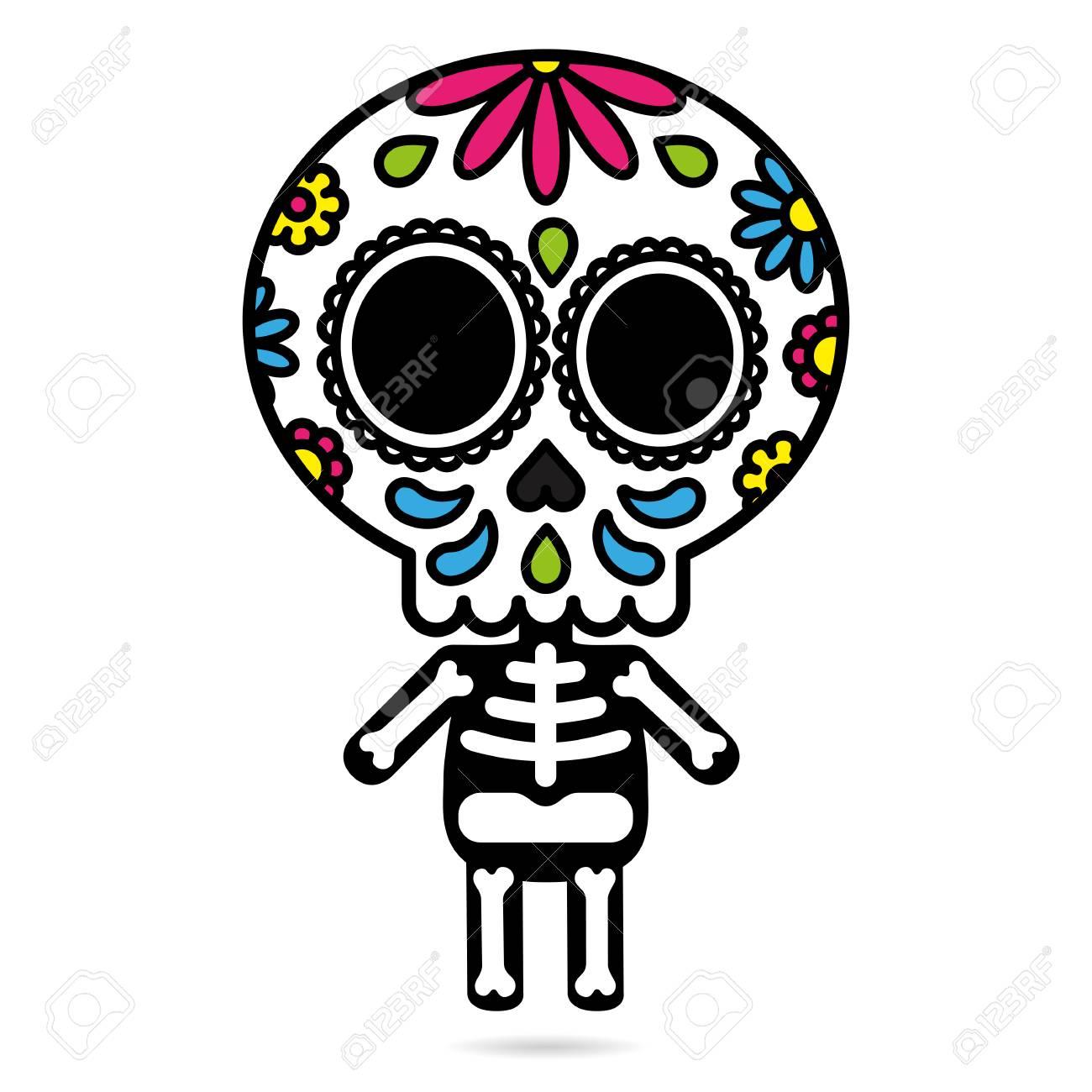Lujoso Modelo Del Cráneo Del Bordado De Azúcar Colección de Imágenes ...