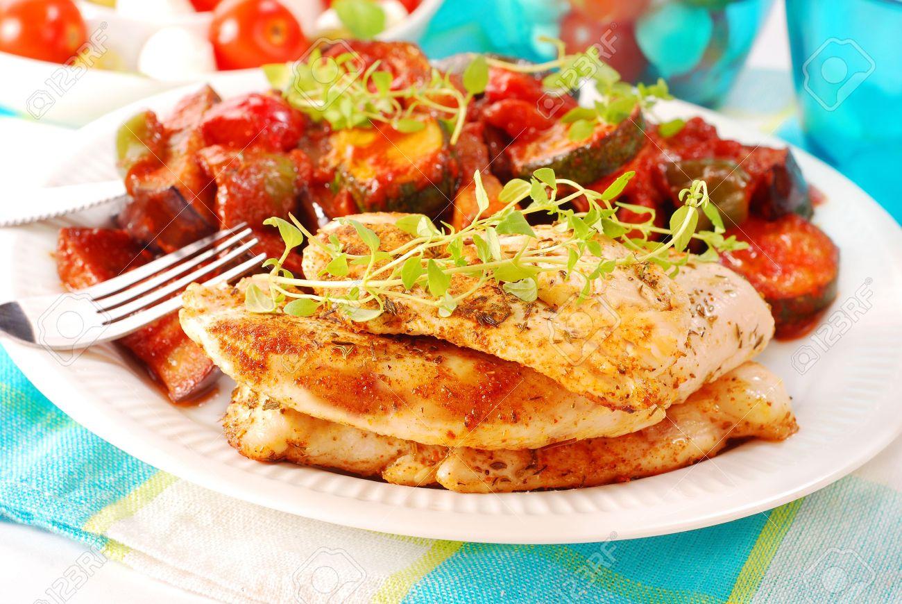Ratatouille recipe chicken stock