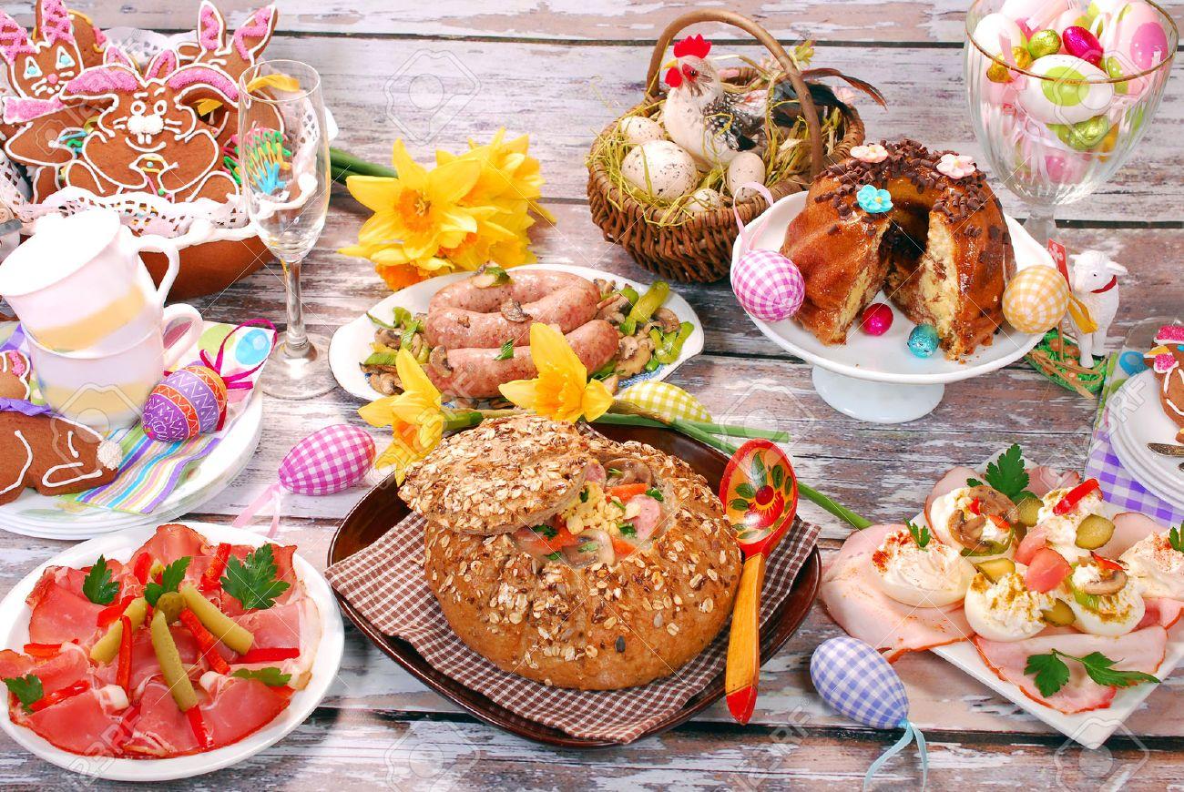Traditional Polish Dishes For Easter Dinner -white Borscht Zurek