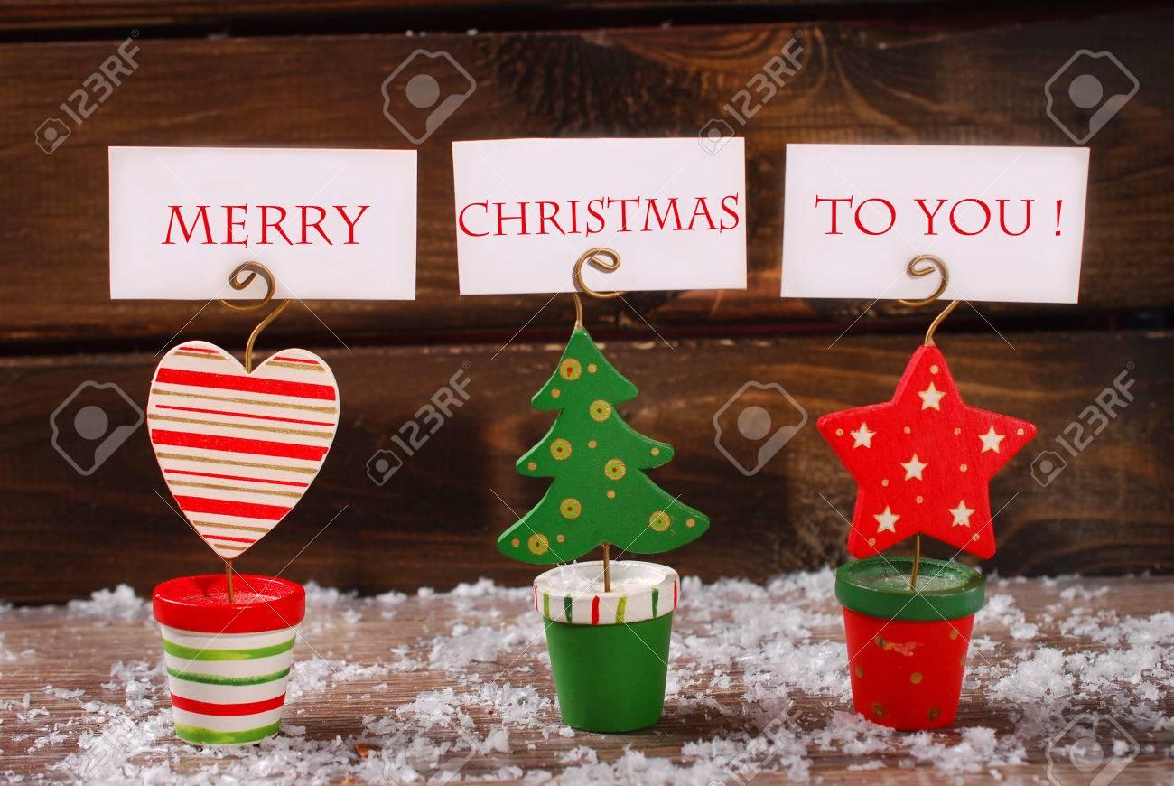Three Christmas Greeting Card Holders In Christmas Tree Star