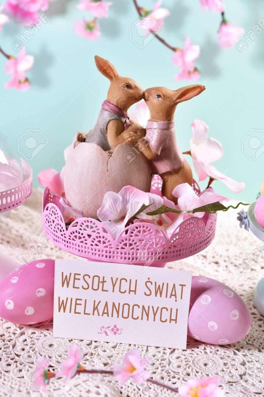 Pâques cartes kartka wielkanocna wielkanoc polonais Carte de vœux