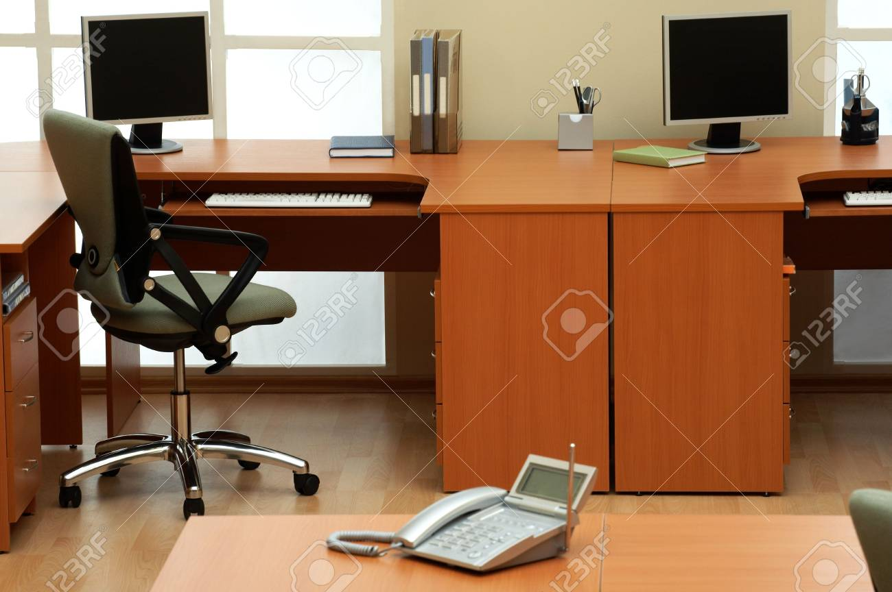 Beautiful conditions at modern and light office Stock Photo - 3062427