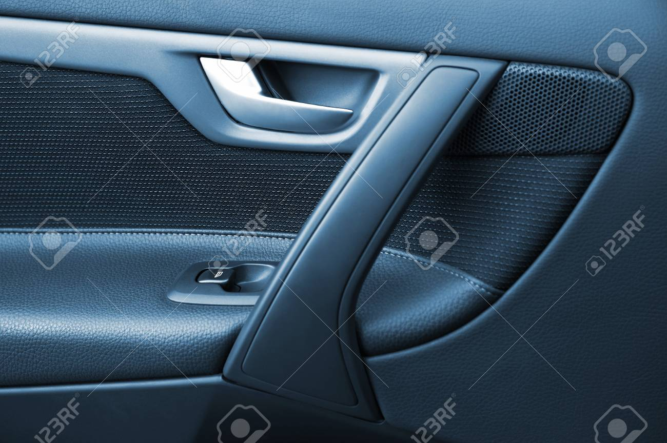 Door of the car with the lift of glass Stock Photo - 6536600