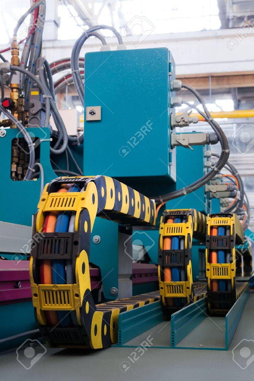 new and powerful metalworking machine in modern workshop Stock Photo - 7731134