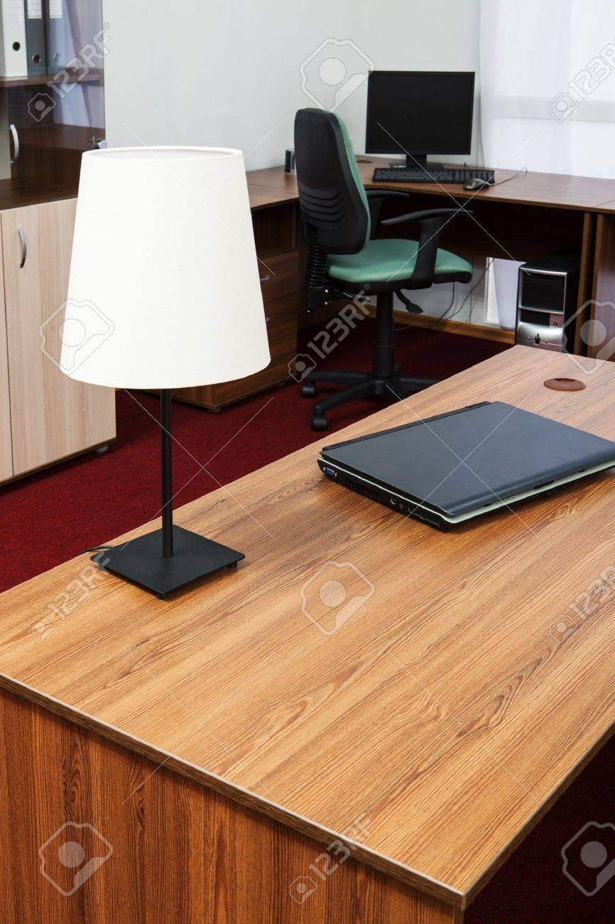 New laptop on a desk at modern office Stock Photo - 19938777