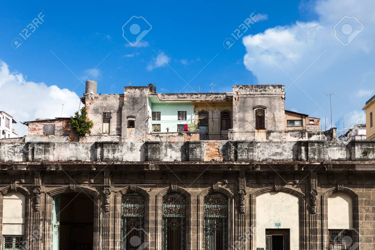 old ruined house with empty windows Stock Photo - 24438884