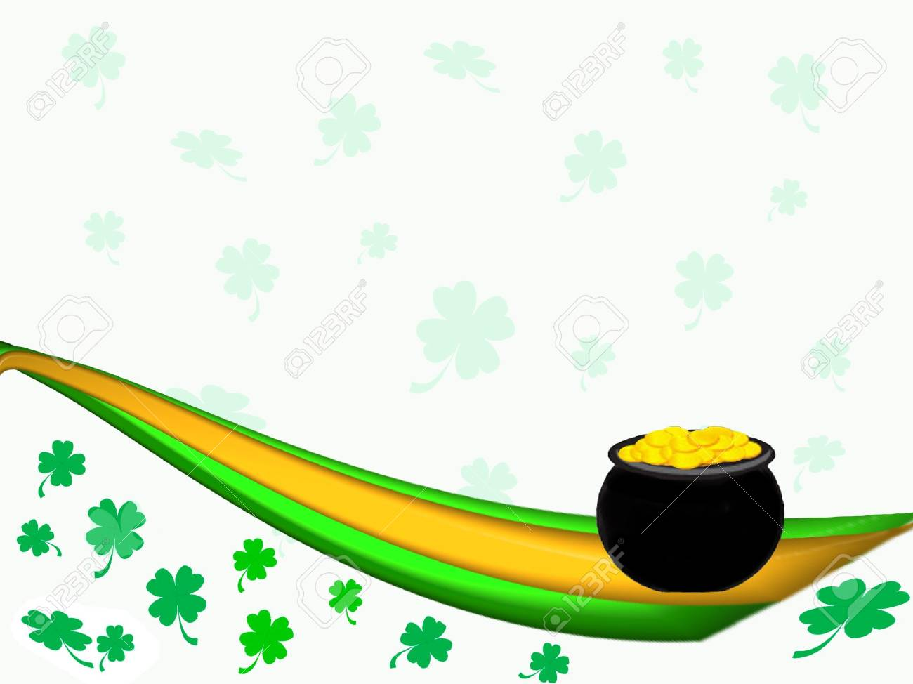 St. Patrick's Day Background Stock Photo - 798581