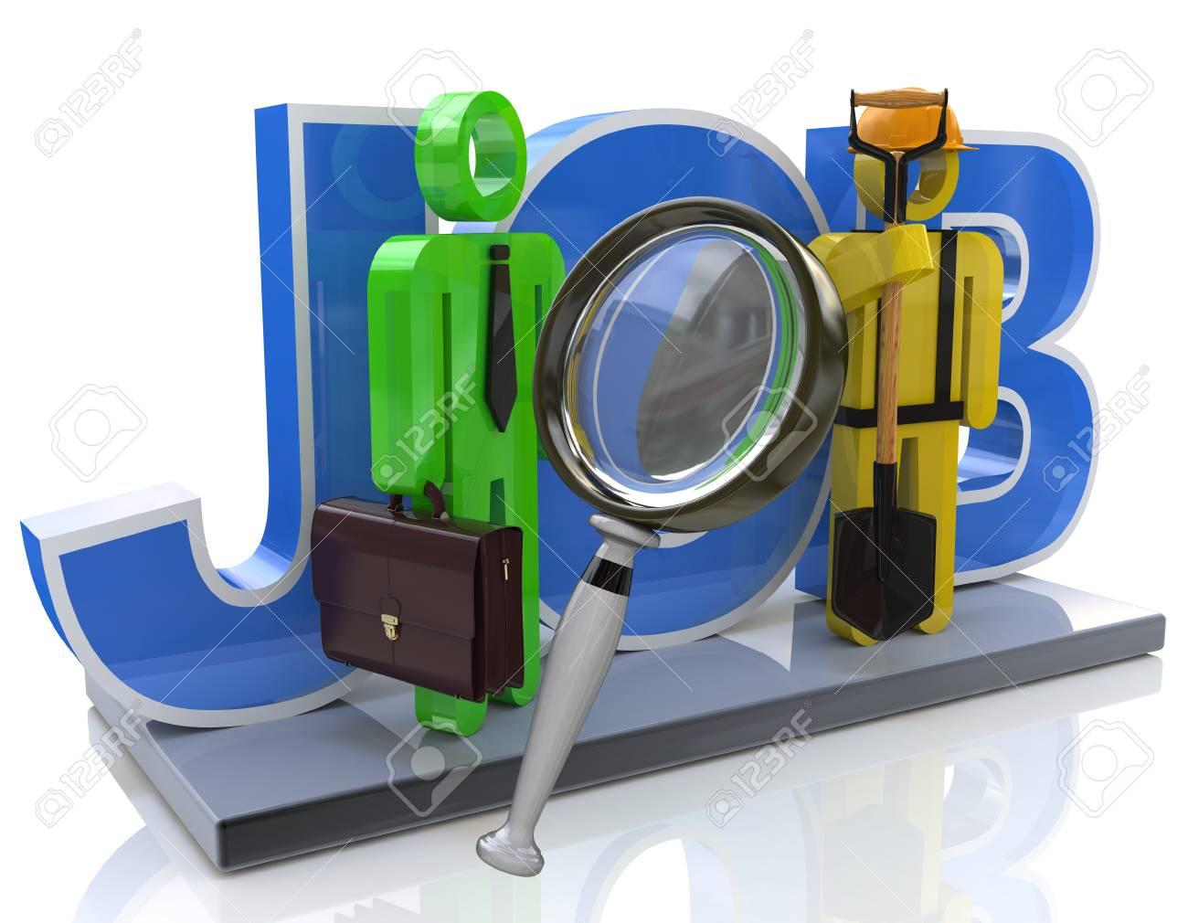 a731c964d19 Búsqueda de empleo y el concepto de elección profesional de empleo Foto de  archivo - 35123643