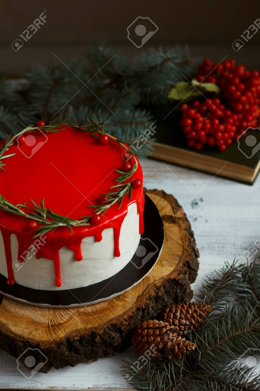 Homemade Christmas Birthday Cake Ideas