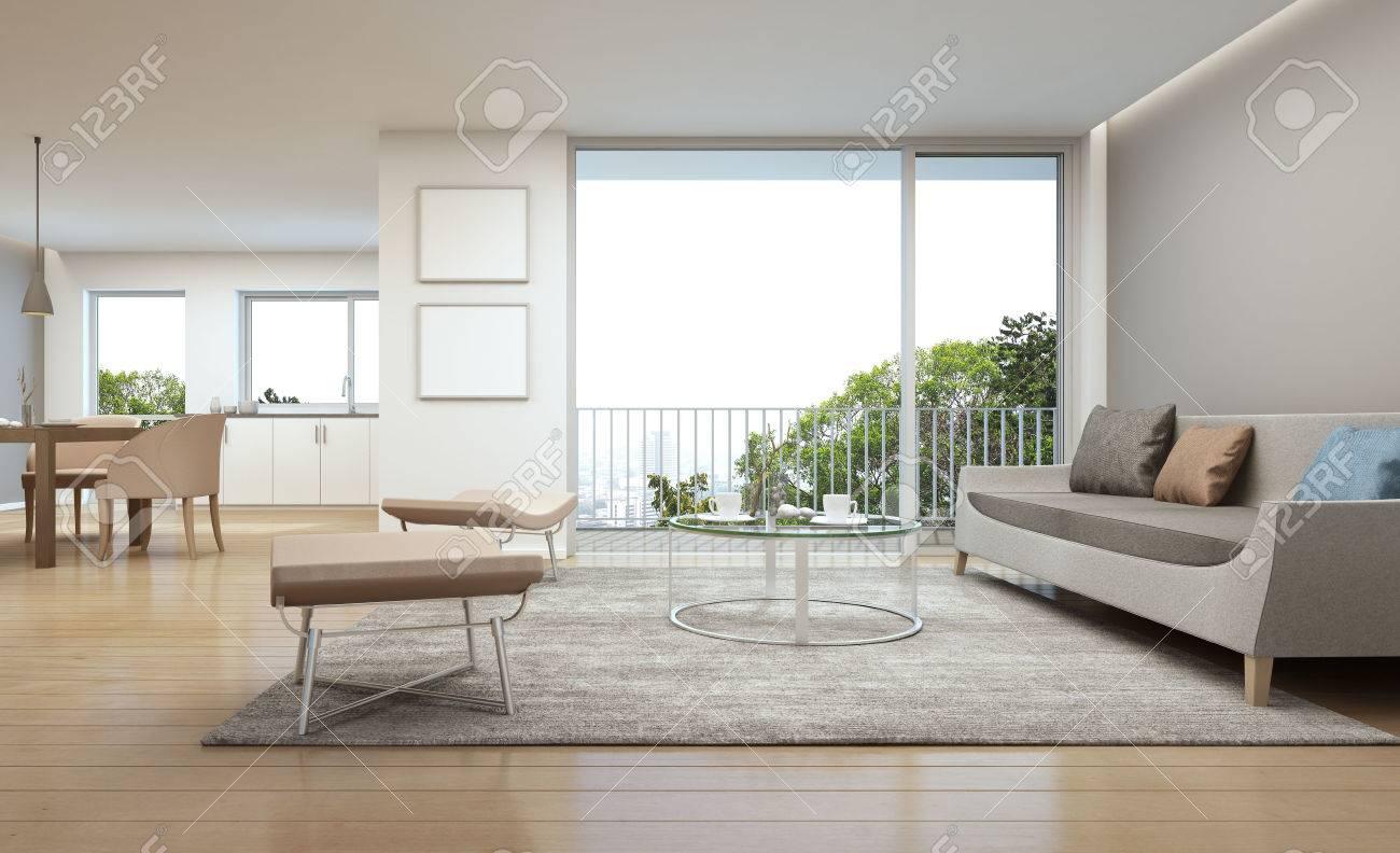 Wohnzimmer Esszimmer Und Kuche In Luxus Haus 3d Rendering Lizenzfreie Fotos Bilder Und Stock Fotografie Image 60672819