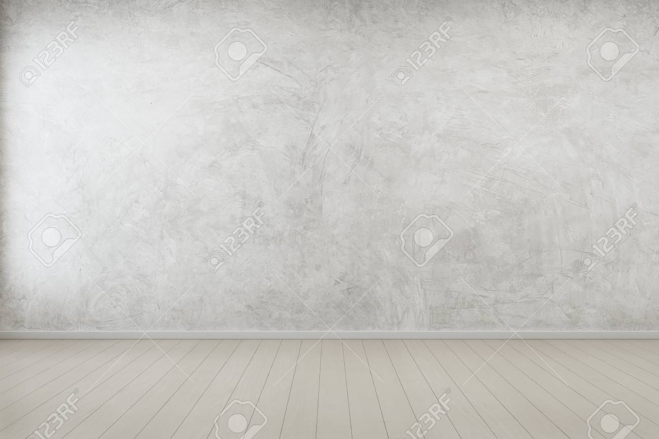 Empty Room With Concrete Wall Background In Modern House Interior Stock Photo Picture And Royalty Free Image Image 73681486