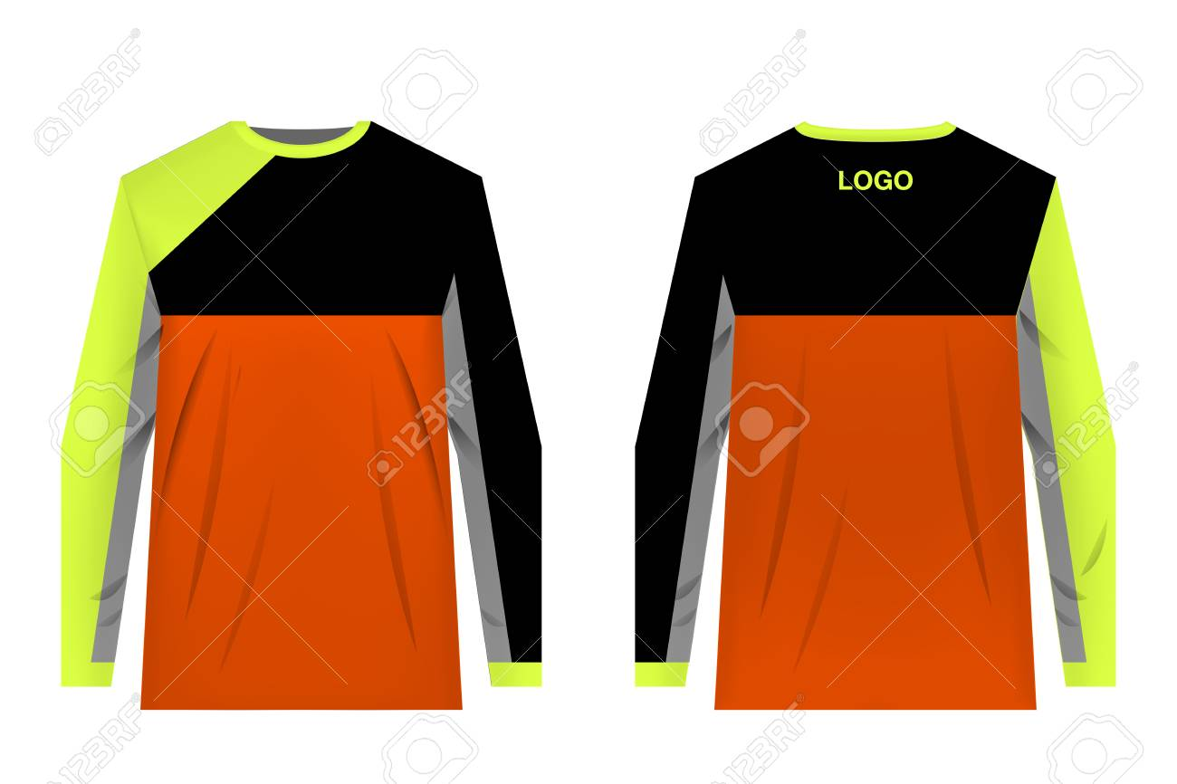 Templates Jersey For Mountain Biking Jersey For Motocross Extreme