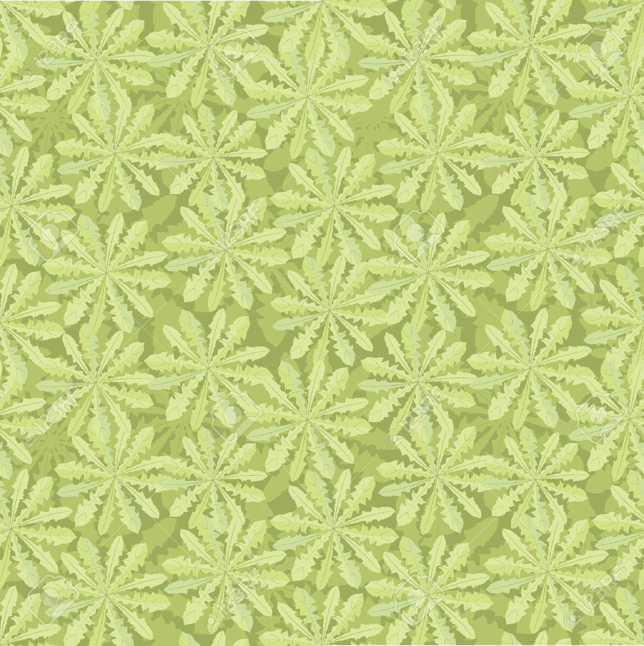 floral seamless pattern  grass background Stock Vector - 16228832