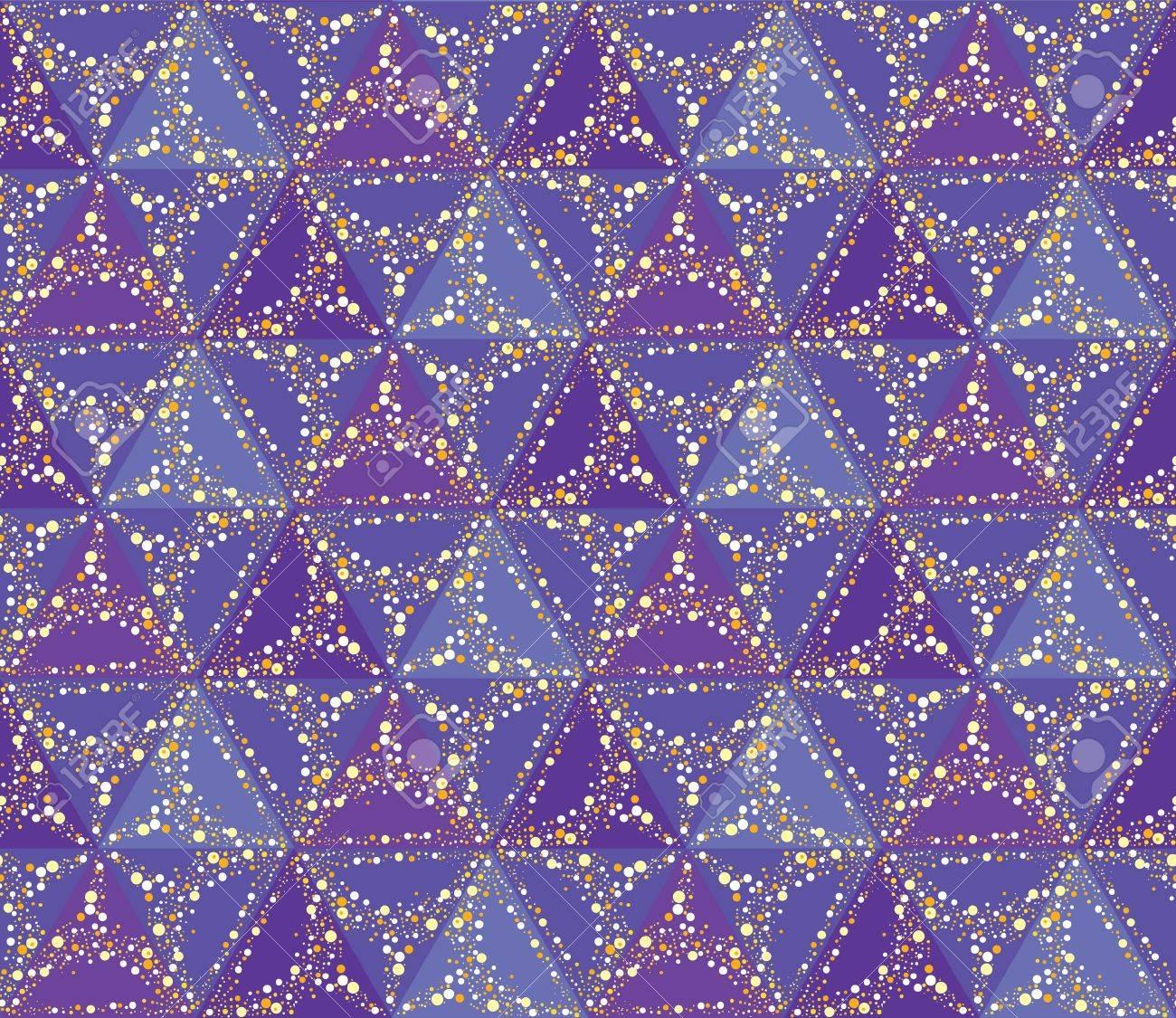 seamless star pattern  sky background Stock Vector - 16228834