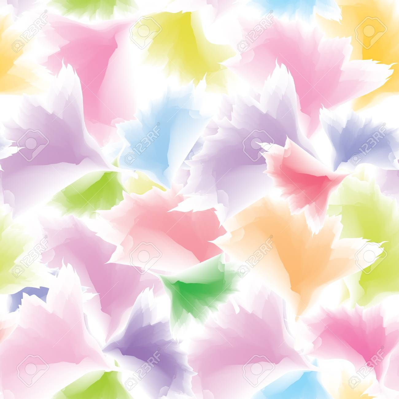 Abstract multicolor floral background Stock Vector - 16229480