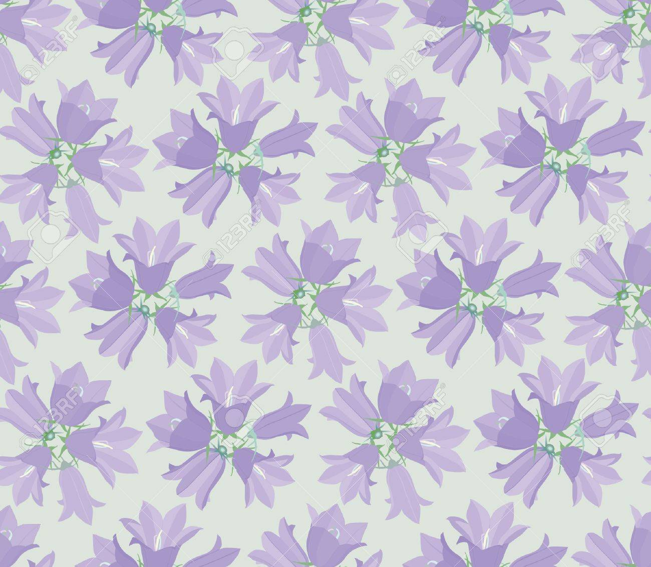 seamless pattern background with lilac flowers Stock Vector - 16473098