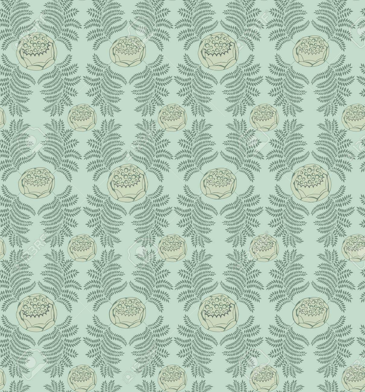 Floral pattern seamless  Flourish ornamental background Stock Vector - 16473115