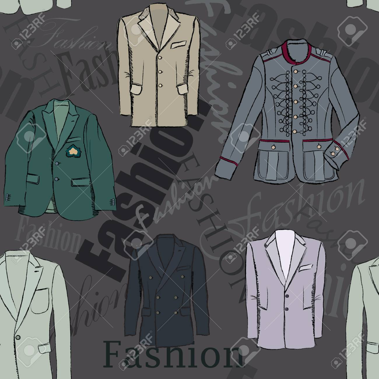 fashion seamless background Stock Vector - 17280723