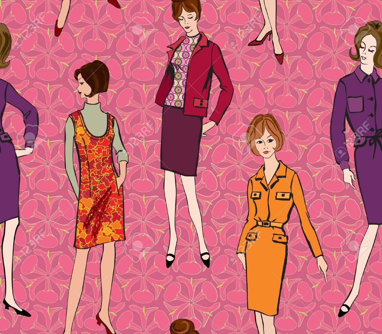 Perfecto 60s Vestidos De Fiesta Imágenes - Colección de Vestidos de ...