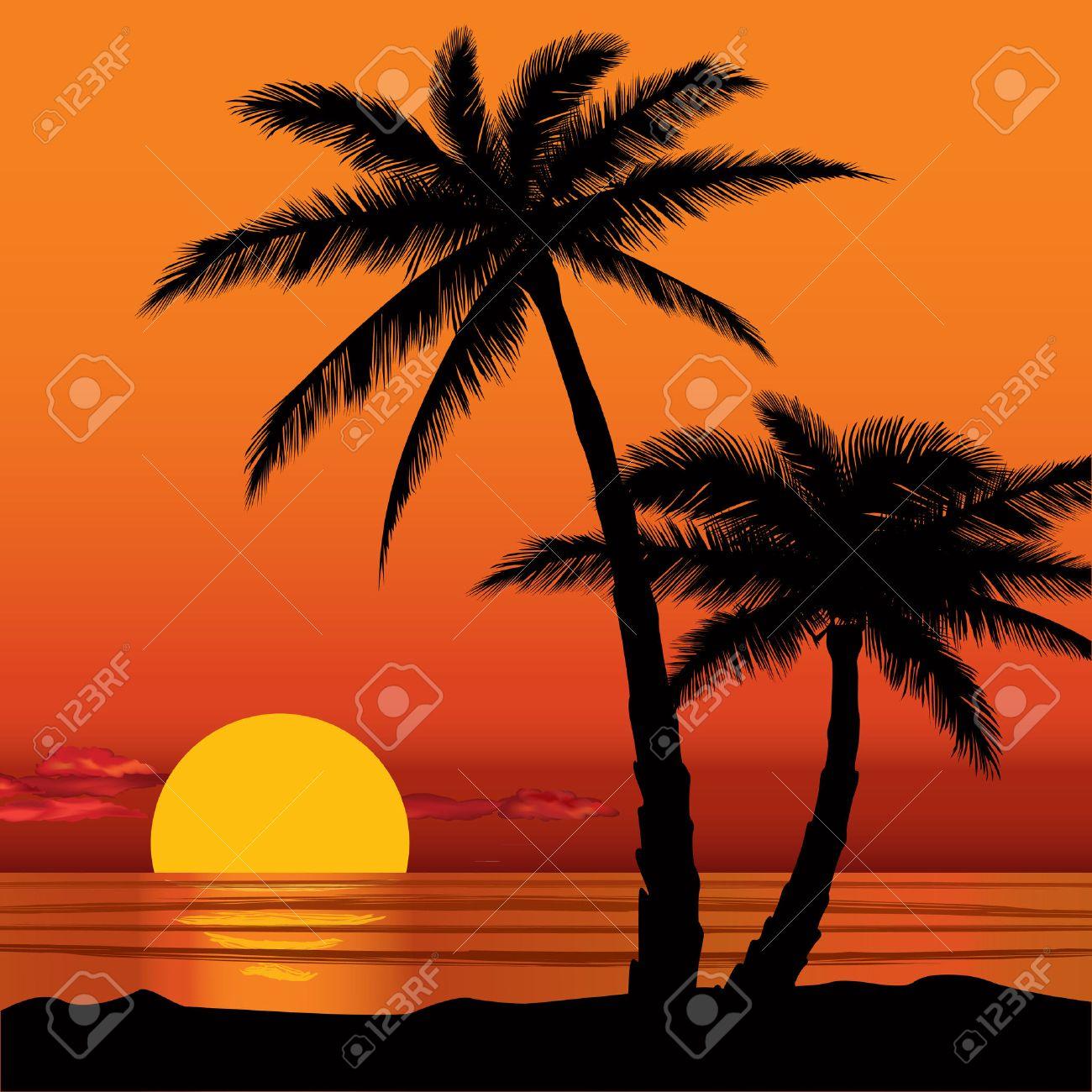Summer holidays background Seaside View Poster Vector beach resort wallpaper - 31385036