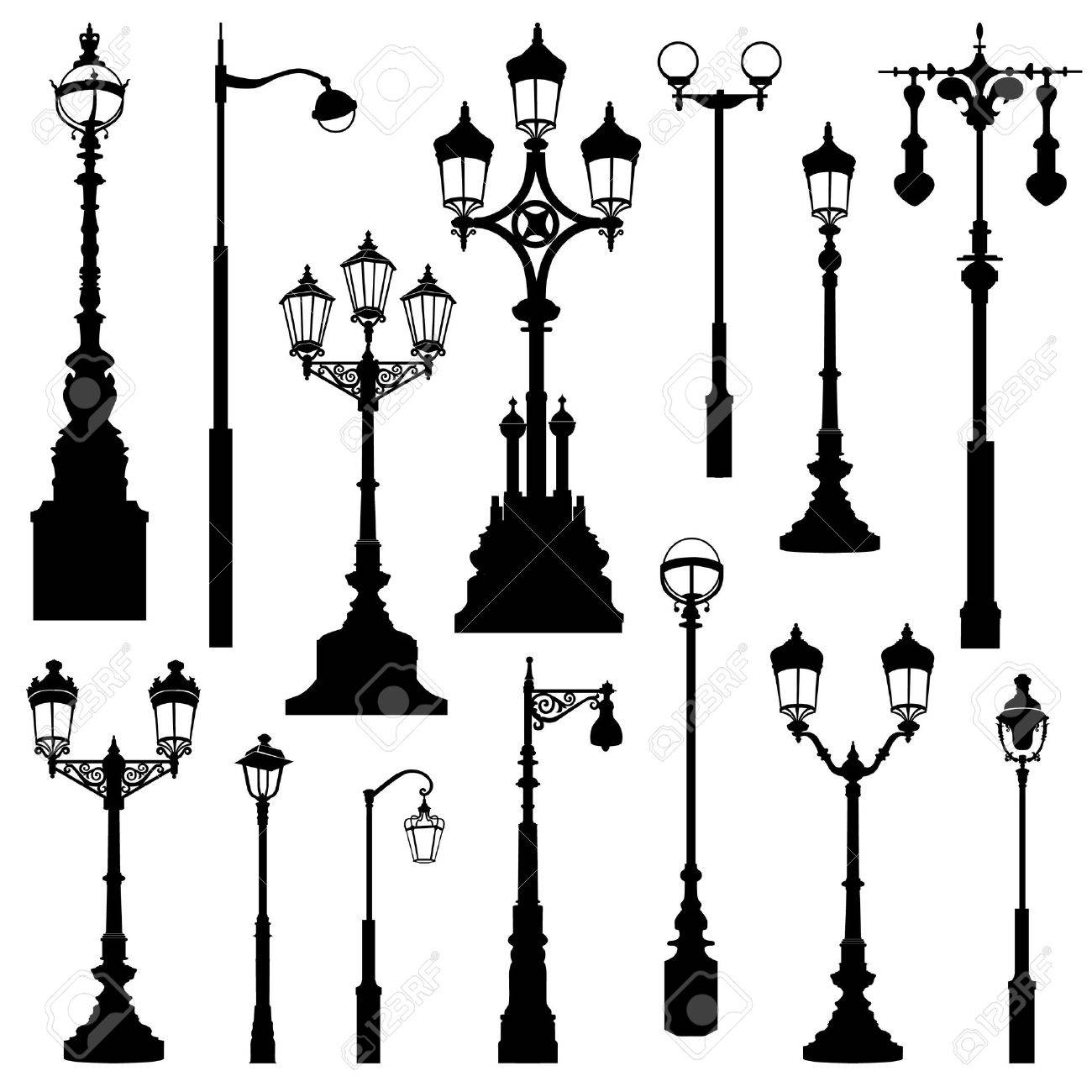 Lamp Post Images  for Street Lamp Post Design  146hul
