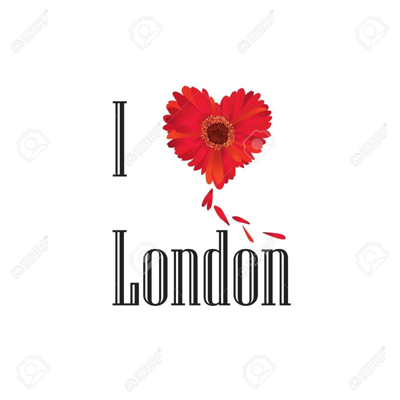London symbol i love london flower concept vector sign over london symbol i love london flower concept vector sign over white background england buycottarizona