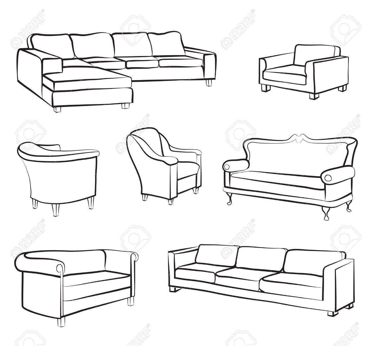 Bett strichzeichnung  Ausgefallene Möbel | jject.info