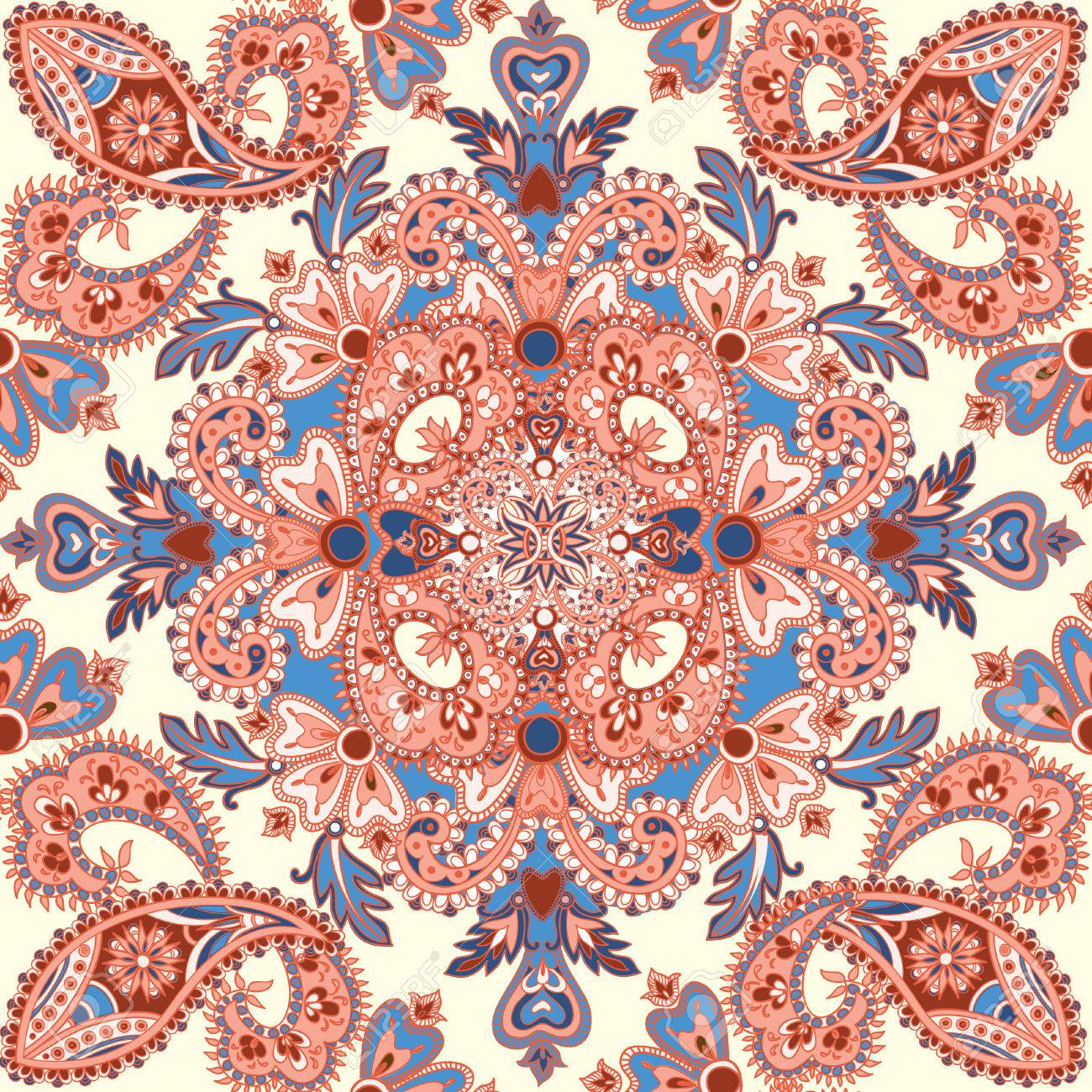Asian Fabric Patterns