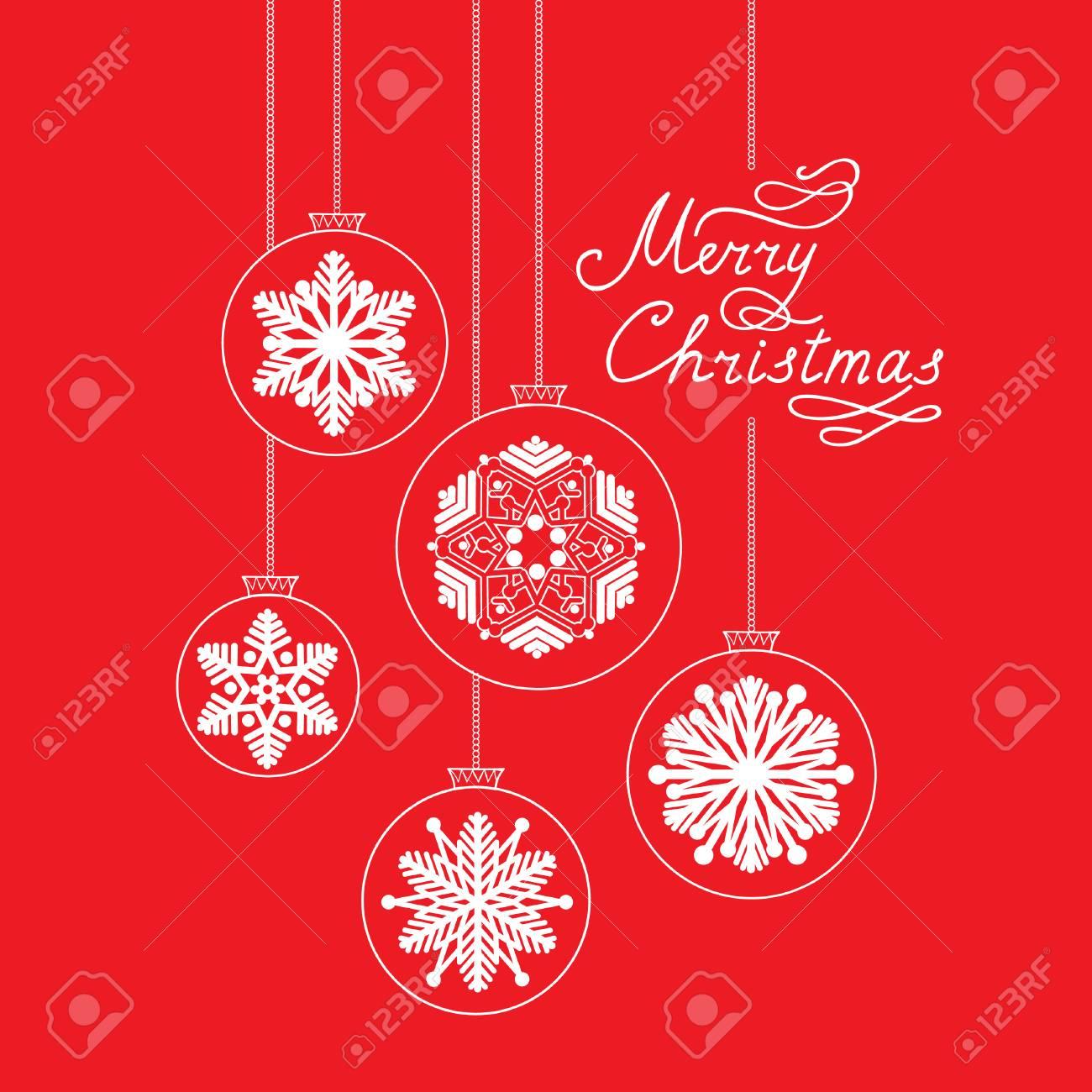 Weihnachten Mit Handgeschriebenen Schriftzug FROHE WEIHNACHTEN ...