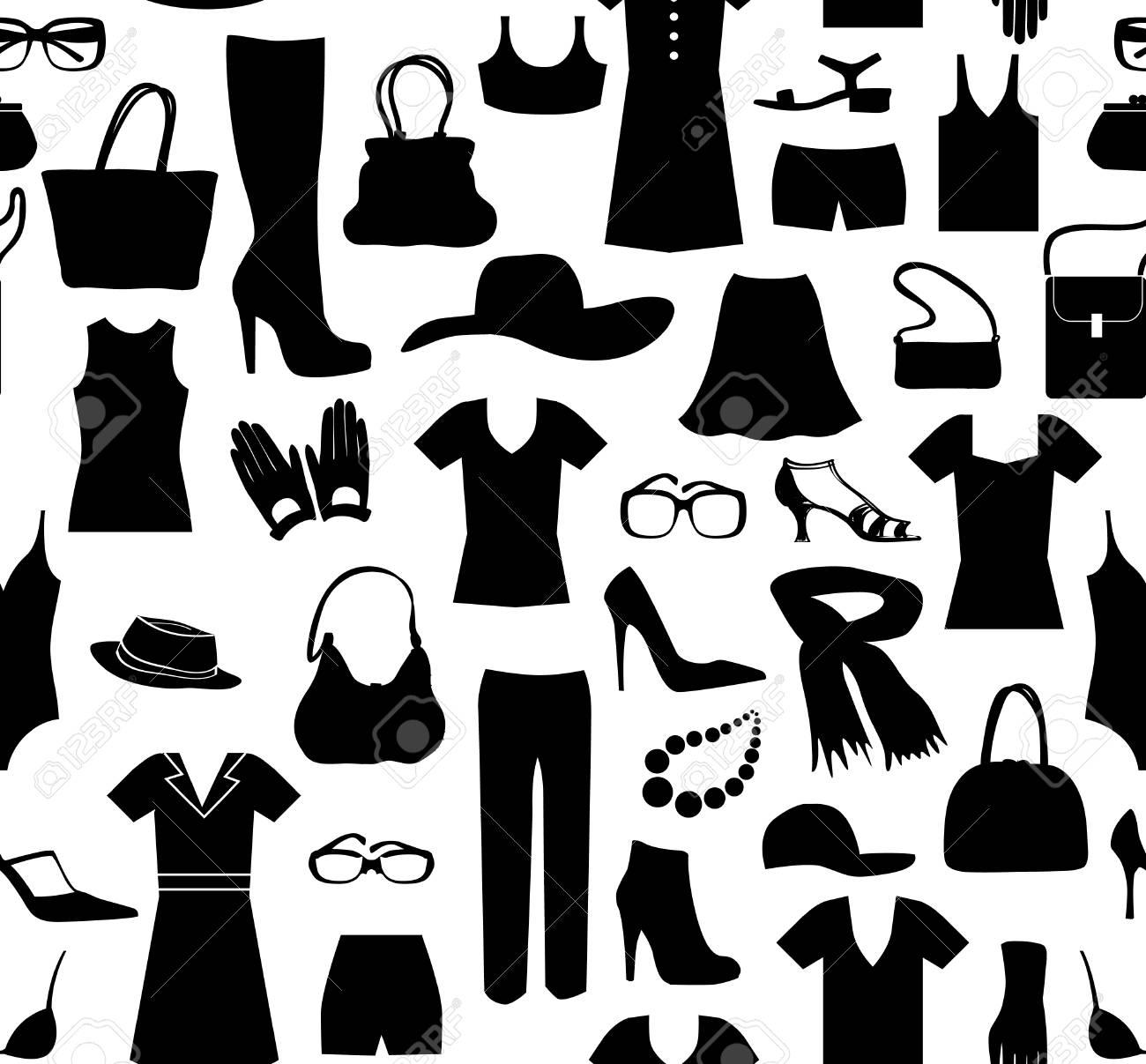 b20f8575 Moda tela de patrón transparente. Las mujeres ropa y accesorios. azulejo al  por menor venta vestido de fondo
